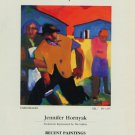 Jennifer Hornyak Farm Images 1987 Art Ad Advertisement