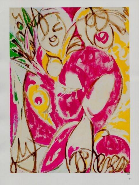 Lee Krasner Sun Woman I Art Ad Advertisement+ Detail