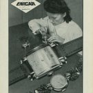 1949 Enicar Watch Company Switzerland Vintage 1949 Swiss Ad Suisse Advert Horlogerie