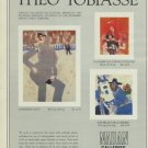 Theo Tobiasse  Le Rendez-Vous1980 Art Ad Publicite Advert Advertisement