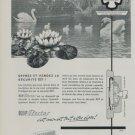 1959 Parechoc KIF Flector Advertisement 1959 Swiss Ad Suisse Advert Horlogerie Horology