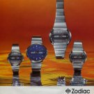 1973 Zodiac Watch Company Switzerland Vintage 1973 Swiss Ad Publicite Suisse Advert Horlogerie
