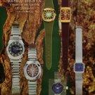 Solvil & Titus Watch Company Solvil et Titus Vintage 1973 Swiss Ad Suisse Advert