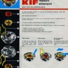 1973 KIF Parechoc S.A. Company Vintage 1973 Swiss Ad Suisse Advert Horlogerie Horology