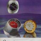 1973 Jaccard Clock Company France Vintage 1973 Swiss Ad Suisse Advert Horlogerie Horology
