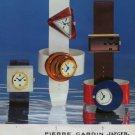 Pierre Cardin Jaeger Clock Company Paris France Vintage 1973 Swiss Ad Publicite Suisse Advert