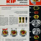 1973 KIF-Parechoc Company Le Sentier Switzerland 1973 Swiss Ad Suisse Advert Horology Horlogerie