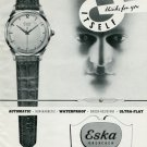 1950 Eska Watch Company Grenchen Switzerland 1950 Swiss Ad Suisse Advert Horlogerie