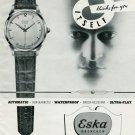 1950 Eska Watch Company Grenchen Switzerland 1950 Swiss Ad Suisse Advert Horlogerie