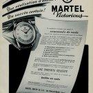 1956 Martel Watch Company Switzerland 1956 Swiss Ad Suisse Advert Horlogerie Horology