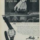 1959 Mido Watch Company Mido Waldorf Vintage 1959 Swiss Ad Suisse Advert Horlogerie Switzerland