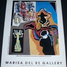 Karel Appel The Desert 1988 Art Ad Advertisement
