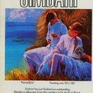 1980 Nicola Simbari Panarea 1980 Art Ad Publicite Advert Advertisement