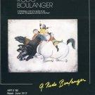 Graciela Rodo Boulanger 1980 Art Ad Publicite Advert Advertisement 3 Cheveaux