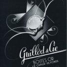 Guillod & Cie Switzerland 1956 Swiss Print Ad Publicite Suisse Advert Horlogerie Horology
