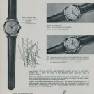 1956 Breitling 30 Waterproof Watch Advert Vintage Swiss Print Ad Publicite Breitling Watch Company