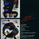 Joan Miro El Rei Garrell Merma 1980 Art Ad Publicite Advert Advertisement