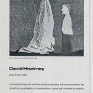 David Hockney Grimm's Fairy Tales 1969 Art Ad Publicite Advert Advertisement