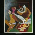 Husaiu 1980 Art Ad Lord Shiva Publicite Advert Advertisement
