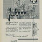 Vintage 1959 Parechoc SA KIF Flector Swiss Print Ad Suisse Publicite Horlogerie Horology