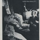 Frederick Kiesler Vintage 1969 Art Exhibition Ad Publicite Advert Howard Wise Gallery