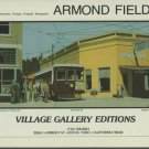 Armond Fields Fieldsville Trolley 1980 Art Ad Publicite Advert Advertisement