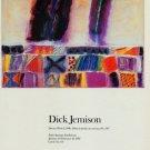 Dick Jemison 1987 Art Exhibition Ad Publicite Advert Elaine Horwitch Galleries Dream Work I