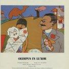 Richard Merkin Oedipus in Luxor 1980 Art Ad Publicite Advert Advertisement