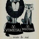 1956 Vimetal Neotal Switzerland Swiss Print Ad Suisse Publicite Horlogerie Horology