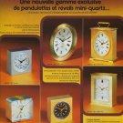 1977 Swiza Clock Company Delemont Switzerland Swiss Print Ad Suisse Publicite Schweiz