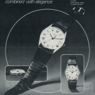 Concord Watch Company Switzerland Vintage 1977 Swiss Ad Suisse Advert Horology Horlogerie