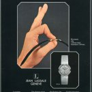 1977 Jean Lassale Watch Co Bouchet-Lassale SA Swiss Print Ad Suisse Publicite Montres Schweiz
