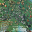 1977 Jewelers Abrecht + Keppler KG Pforzheim Germany Swiss Print Ad Suisse Publicite Advert Schweiz