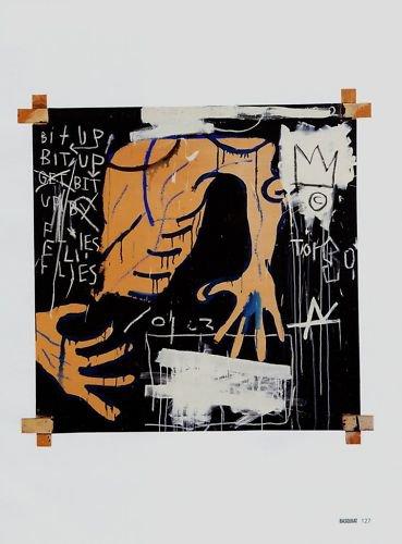 Jean-Michel Basquiat Busted Atlas 2 Art Ad Publicite Advert Advertisement