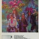 Dotti May in Trinita de Monti 1980 Art AdPublicite Advert Advertisement