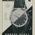 1959 Ernest Borel Flash Watch Advert Swiss Print Ad Suisse Publicite Montres Schweiz