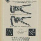 1957 F. Witschi Fils Switzerland Swiss Print Ad Publicite Suisse Horlogerie Horology Schweiz