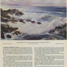 1968 James Peter Cost Wind from the South Vintage 1968 Art Ad Publicite Advert