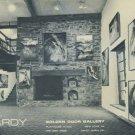 Gerald Hardy Vintage 1968 Art Exhibition Ad Publicite Advert Golden Door Gallery