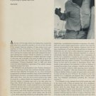 1968 David Von Schlegell The Artist Speaks by Jay Jacobs Vintage 1968 Art Magazine Article