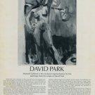 David Park Vintage 1974 Art Ad Daphne Advert Advertisement