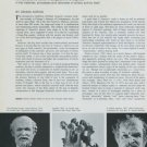 Sculptor Robert Arneson Feats of Clay Vintage 1974 Art Magazine Article