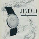 1957 Juvenia Watch Company Supreme Elegance Dans la Finesse Swiss Print Ad Publicite Suisse Montres