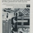 1971 RoWi Rodi & Wienenberger AG Company Vintage 1971 Swiss Ad Suisse Advert Horology