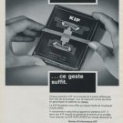 1971 KIF Parechoc SA Le Sentier Switzerland Swiss Ad Suisse Advert Horlogerie Horology