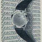 1955 Exactus Watch Company Neuchatel Switzerland Vintage 1955 Swiss Ad Suisse Advert