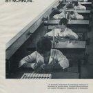 Synchron Watch Company Doxa Cyma Ernest Borel 1971 Swiss Ad Suisse Advert