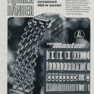 Artur Fischer Bander Company Vintage 1971 Swiss Print Ad Publicite Suisse Advert Horology Horlogerie
