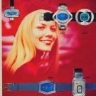 Atlantic Watch Company Vintage 1975 Swiss Ad Advert Suisse Horlogerie Horology