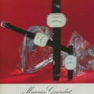 Maurice Guerdat Watch Company Vintage 1975 Swiss Ad Advert Suisse Horlogerie